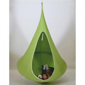TEMPO KONDELA Klorin New Big Size závesné hojdacie kreslo zelená #2 small