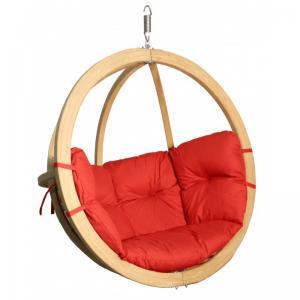 Závěsné houpací křeslo O-Zone Swing Pod červené