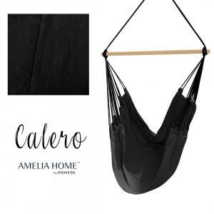Závěsné houpací křeslo Calero černé