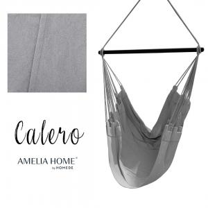 Závěsné houpací křeslo Calero šedé