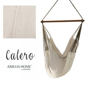 Závěsné houpací křeslo Calero světle béžové
